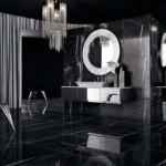 badrum svart