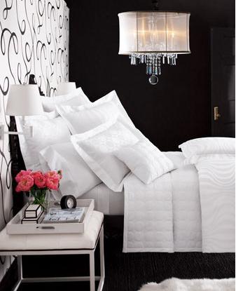 Black  White Bedroom Ideas on Inspiration Sovrum    Inspiration   Inredning Hemma
