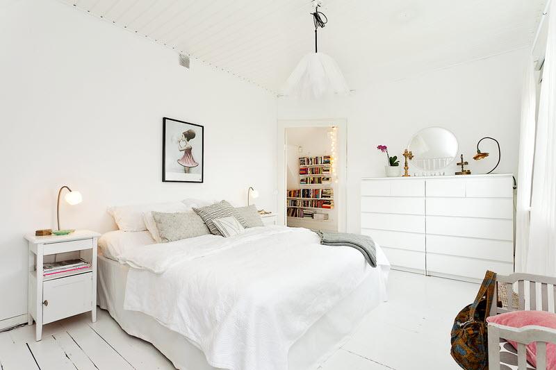 All White Bedroom Tumblr
