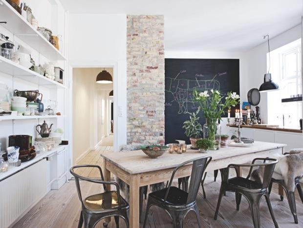 Ännu ett danskt hem… – Inspiration Inredning