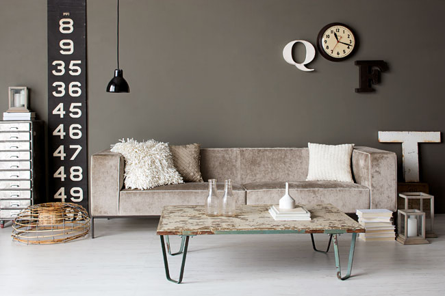 Industrial Style Living Room Design The Essential Guide: Inspiration Inredning