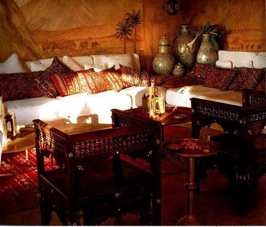 orientalisk inredning inspiration